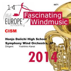 CISM14 - Honjo Daiichi HS Symphony Wind Orchestra, JP